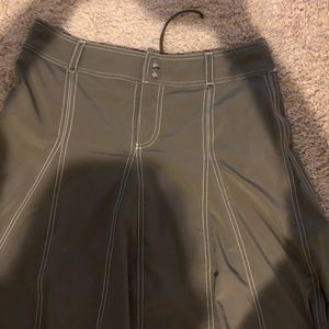 ATHLETA Womens 6 Olive Green Cotton Modal Stretch